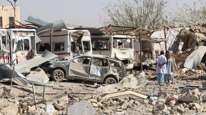 Deadly Taliban attack 'destroys' hospital; 10 killed