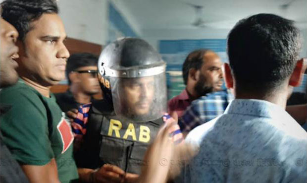 Police seek 14-day remand for Khaled