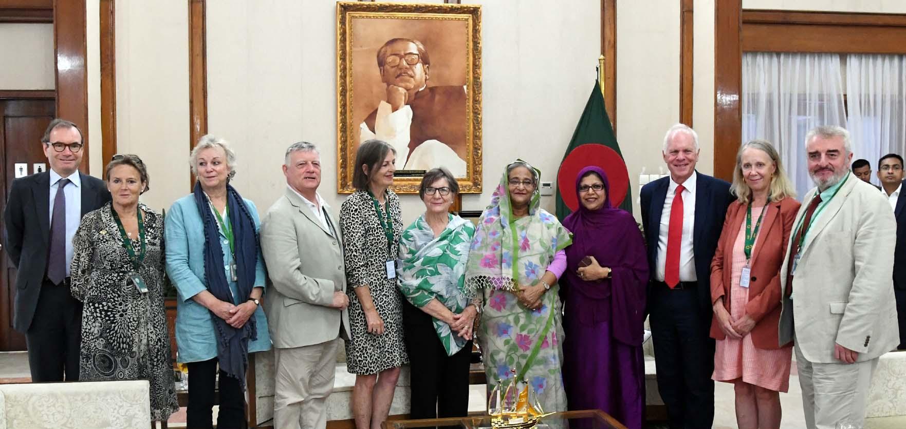 Rohingyas a big burden for Bangladesh: PM