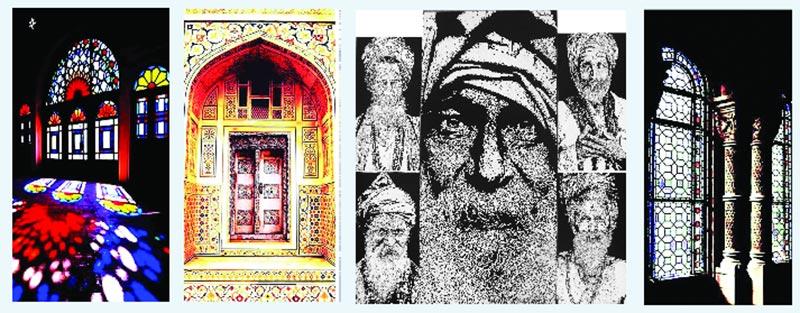 Artworks by Proshanta Karmakar Buddha