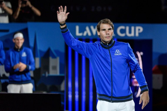 Nadal builds Europe's lead in Laver Cup