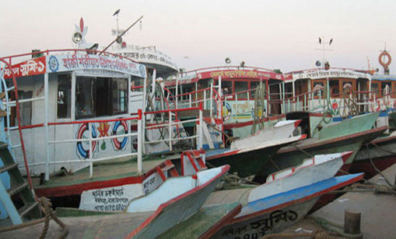 Ferry services on Kathalbari-Shimulia route suspended