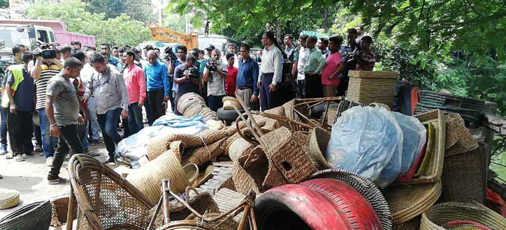 DNCC's drive against illegal encroachment starts