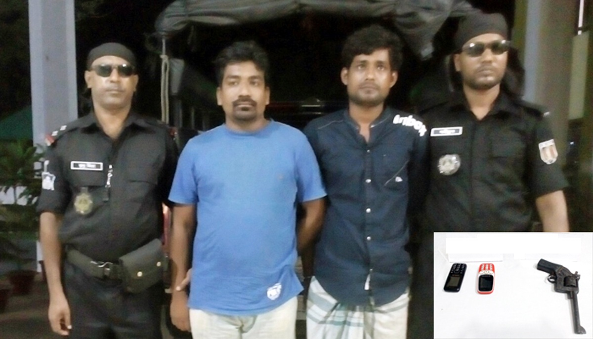 3 detained with drugs, arms
