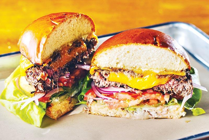 Farmhouse Burger, an American taste in city