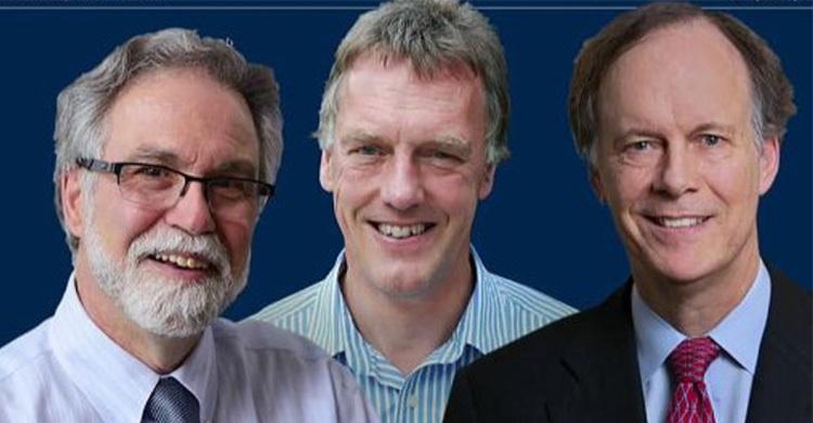 3 awarded Nobel in Medicine
