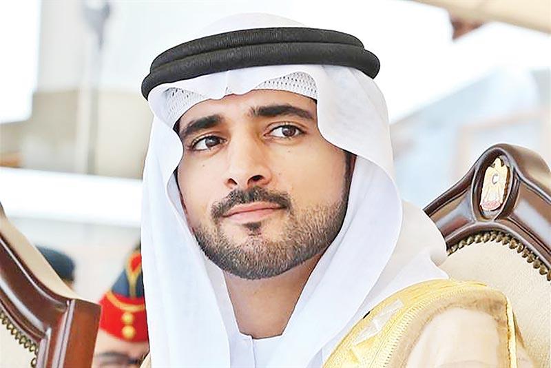 Sheikh Hamdan bin Mohammed bin Rashid Al Maktoum, Crown Prince of Dubai and Chairman of the Dubai Executive Council.