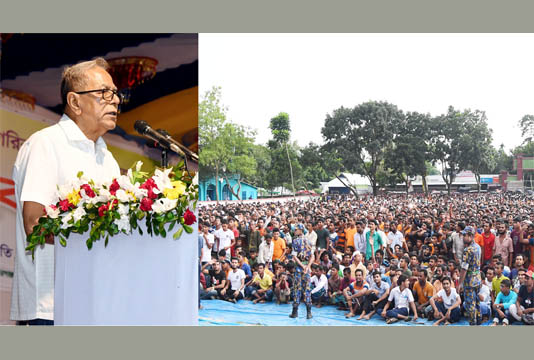 Corruption must be stopped: President