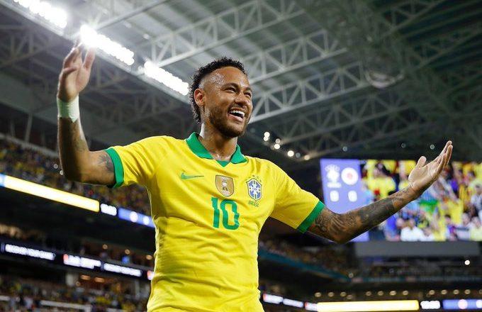 Neymar poised for 100th Brazil appearance