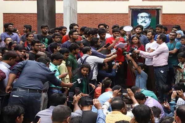 BUET students threaten to lock all buildings