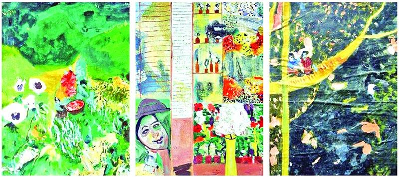 Paintings by Tandra Das