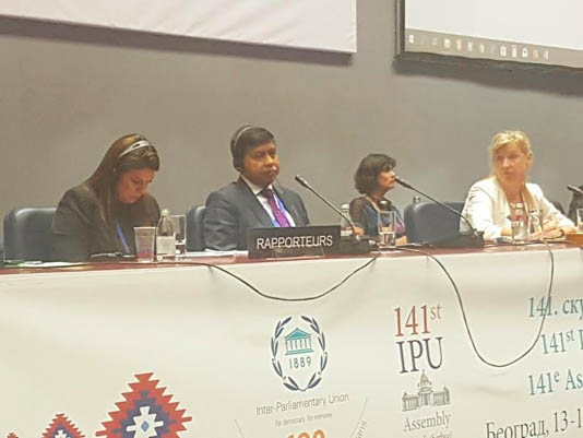 IPU adopts Dhaka's proposal for universal health coverage