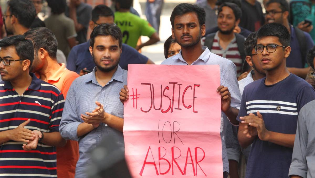 One sent to jail in Abrar killing case