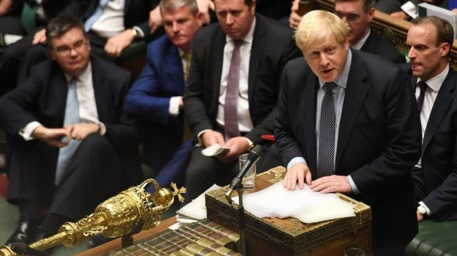 Johnson faces perilous Brexit ratification after deal vote blocked