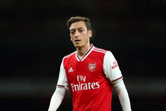 What's happening with Ozil at Arsenal?