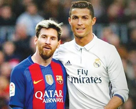 Messi and Ronaldo wouldn't do what rugby players do: Jones