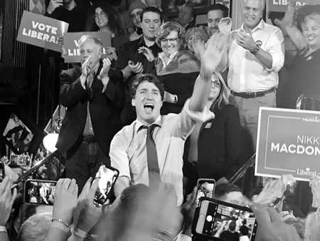 Canada elections: Justin Trudeau wins narrow victory to form minority government