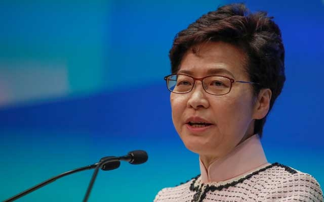 China plans to replace Carrie Lam