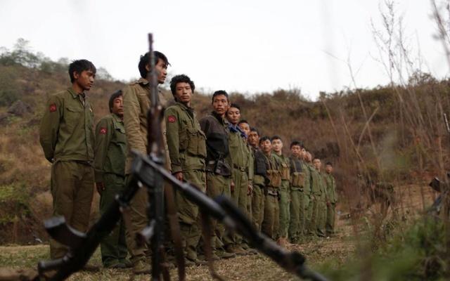 Scores killed in attacks on Rakhine rebels