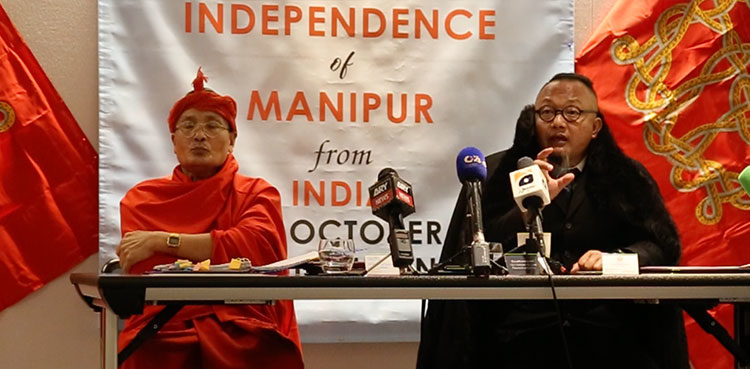 Indian Manipur leaders announce exiled govt in UK