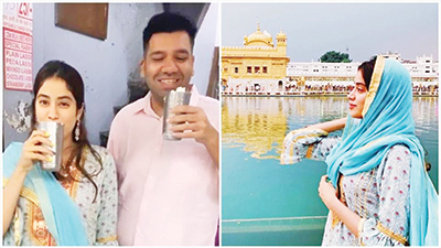 Janhvi Kapoor kicks off Dostana 2 shoot in Amritsar