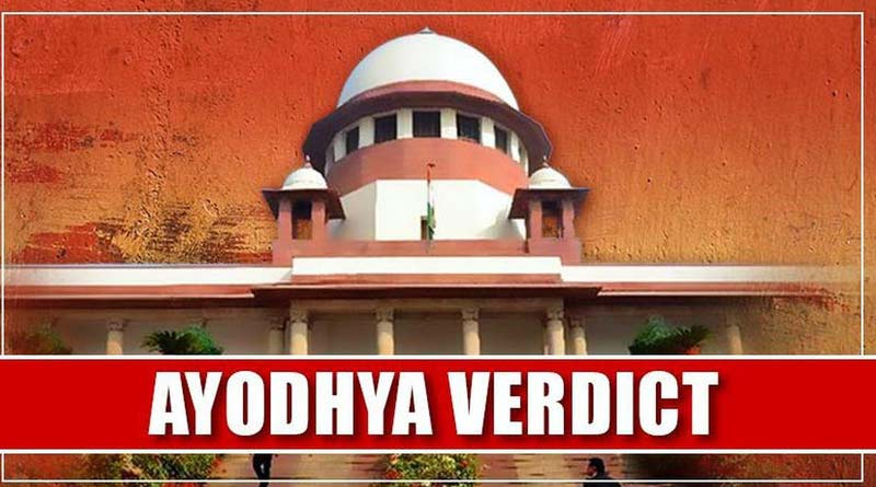Text of Ayodhya verdict on Babri mosque dispute
