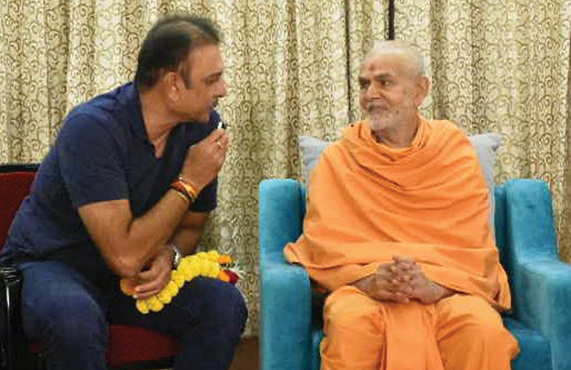 India's first loss against Tigers may have prompted Ravi Shastri to seek divine help