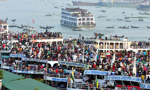 Water transport services resume after 59hrs