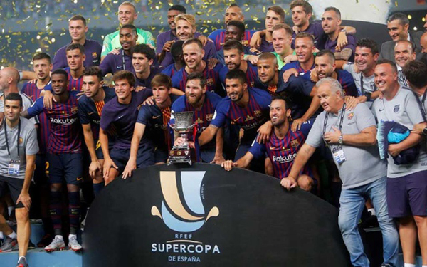 The Spanish Super Cup was last played in August 2018