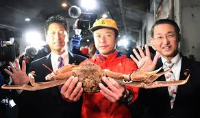 Crab sells for record-breaking $46,000