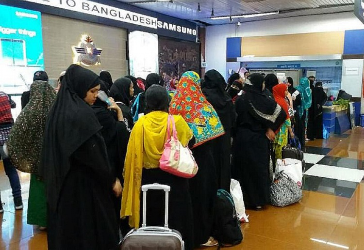 Over a hundred Bangladeshi maids returned from Saudi Arabia after facing abuse from their employers.