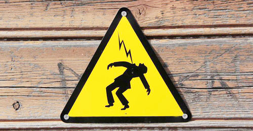 Man dies from electrocution