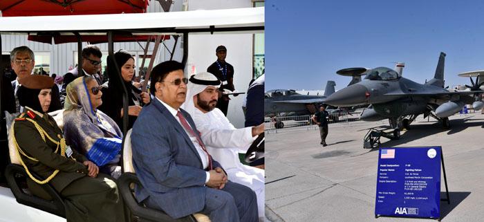 PM witnesses gleaming Dubai air show