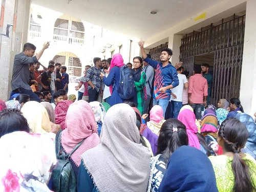 CoU students demand end of session jam