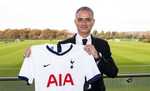Mourinho appointed Tottenham manager