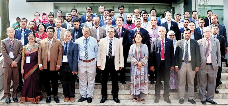 Participants of workshop on consortium for youth work in Commonwealth higher education