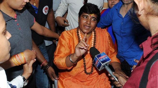 Outrage after MP calls Gandhi killer 'a patriot'