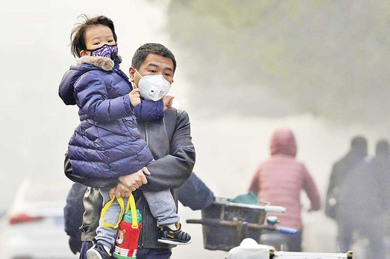 Air pollution causes blindness: Study