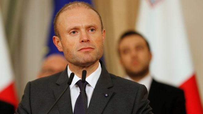 Malta PM to resign in new year