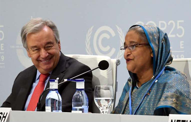 Create framework to address needs of climate migrants
