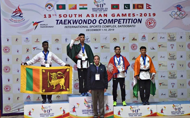 Bangladesh clinches one-gold, 12 bronze medals on Monday