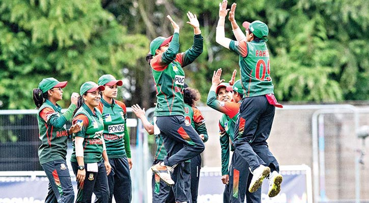 Bangladesh Women begin mission with victory
