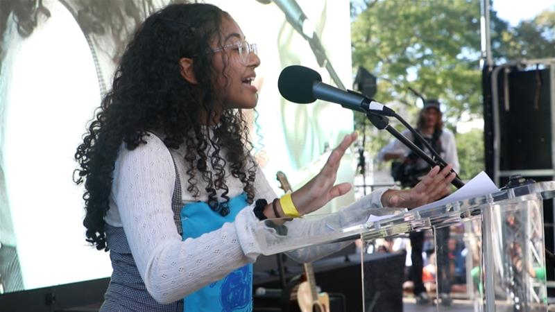 Bangladeshi-American teen activist fighting for climate change