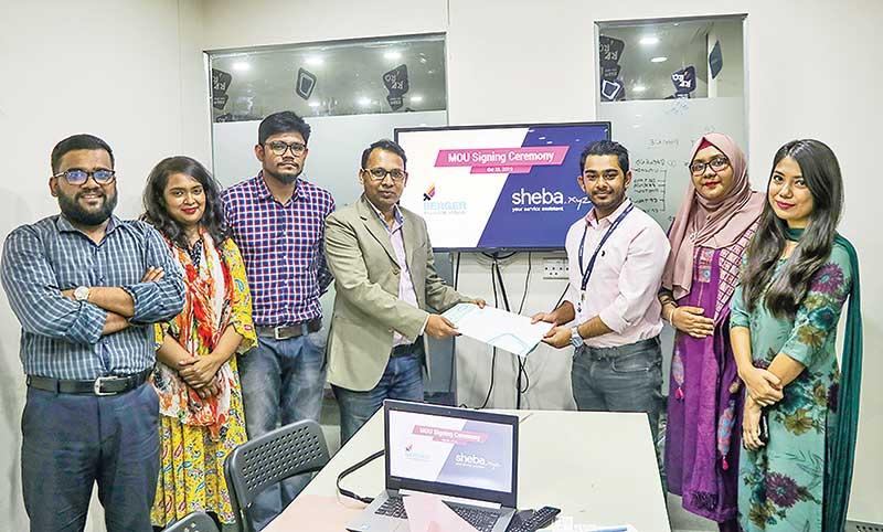 Berger Paints Bangladesh LTD and Sheba xyz, an online market place signed