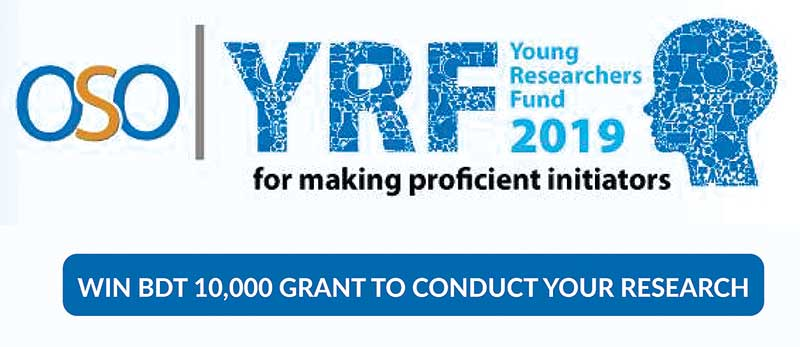OSO young researchers' fund prog in Dec