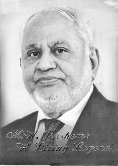 M A Kashem: A living legend