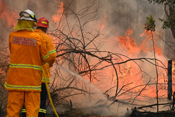 Prolonged drought has left much of eastern Australia tinder dry and spot fires have raged every day