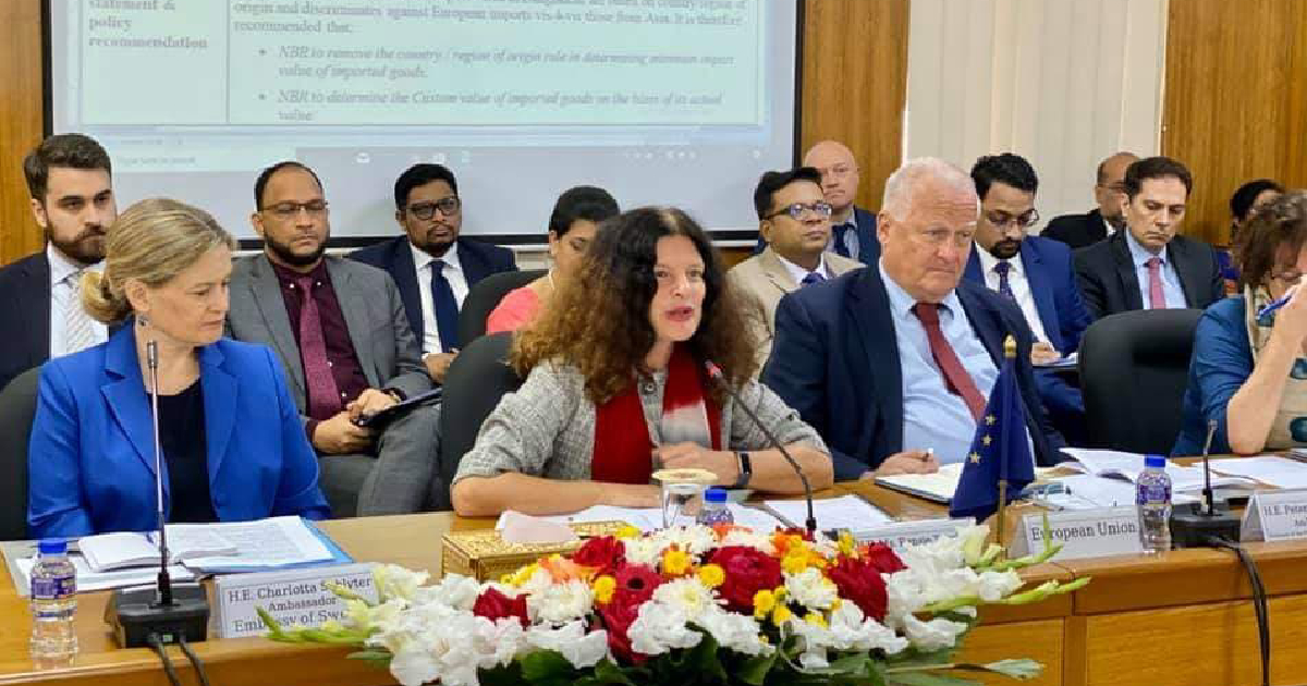 EU to work for creating conducive business environment