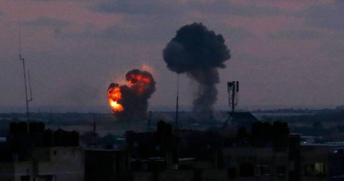 Israeli aircraft strike Hamas sites in Gaza