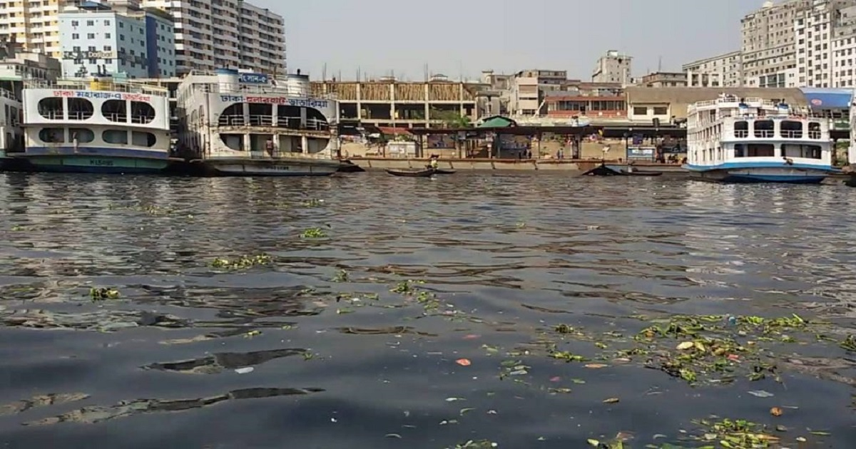 Remove sewerage lines from Buriganga banks